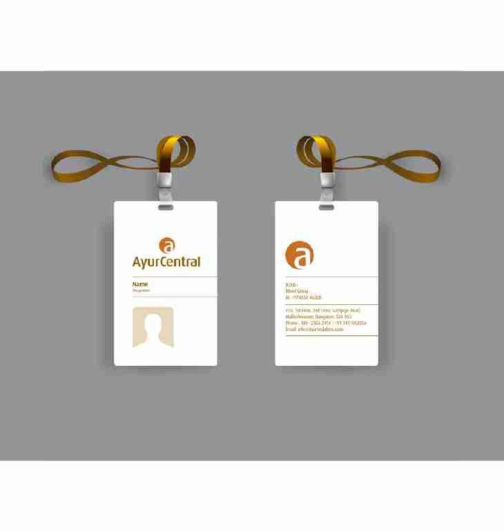 AYURCENTRAL ID CARD DESIGN